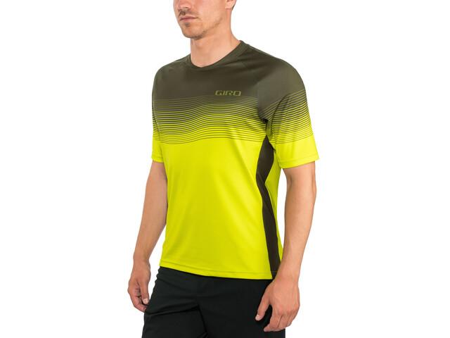 Giro Roust MTB Jersey Herren citron green heatwave